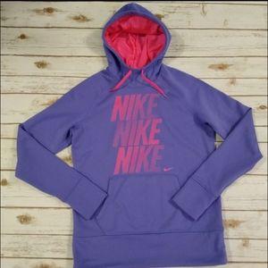 Nike Dark Purple Therma Fit Pullover Size Medium